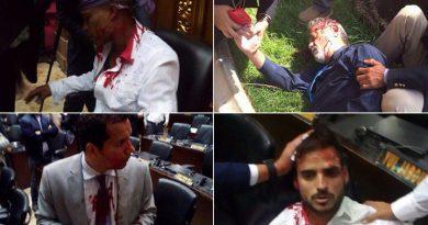 Adeptos al gobierno del Presidente Maduro, protagonizaron hechos violentos en la AN