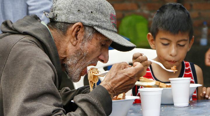 Comedor comunitario en Cúcuta atiende a más de mil venezolanos