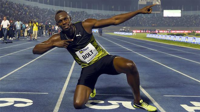 el jamaiquino Usain Bolt, conocido comoEl hombre más rápido del planeta; Boltparticipará en 100 y 4x100.
