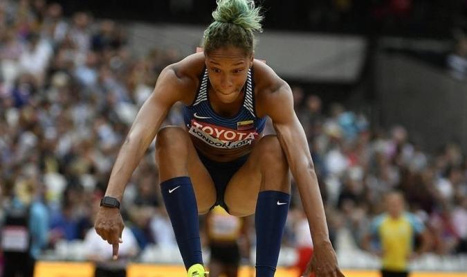 La venezolana Yulimar Rojas obtuvo oro en El Mundial de Atletismo 2017