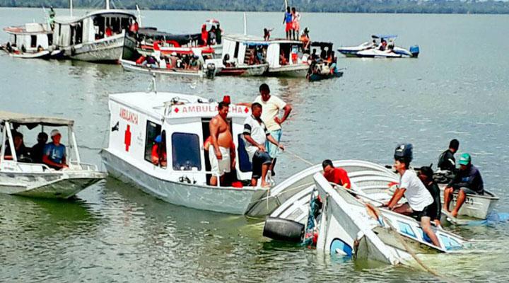 Naufragios en Brasil dejan cuarenta muertos