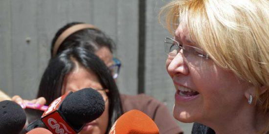 Luisa Ortega Díaz ex fiscal venezolana se reunió, el pasado fin de semana, con diplomáticos de Estados Unidos