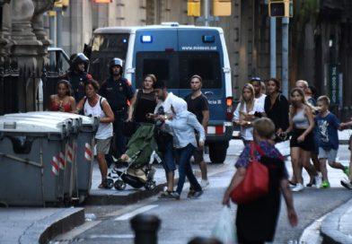 Trece muertos y un centenar de heridos en  atentado en la Rambla de Barcelona