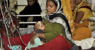 60 niños que estaban recluidos en un hospital de La India, mueren por falta de oxigeno