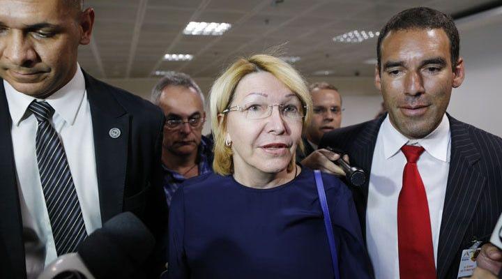 Llegó a Brasil, ex fiscal Luisa Ortega Díaz