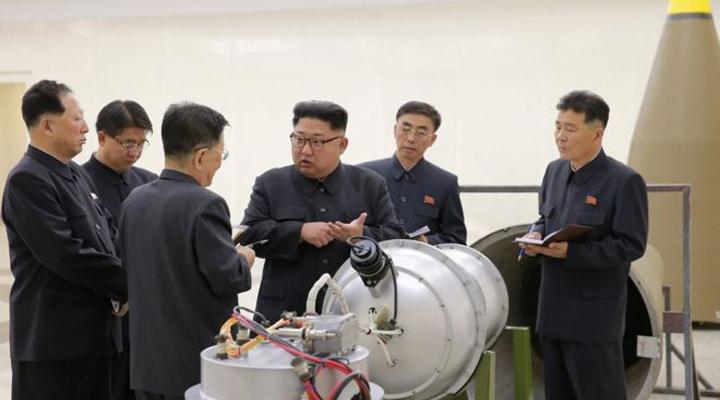 Corea del Norte logró miniaturizar una bomba de hidrógeno
