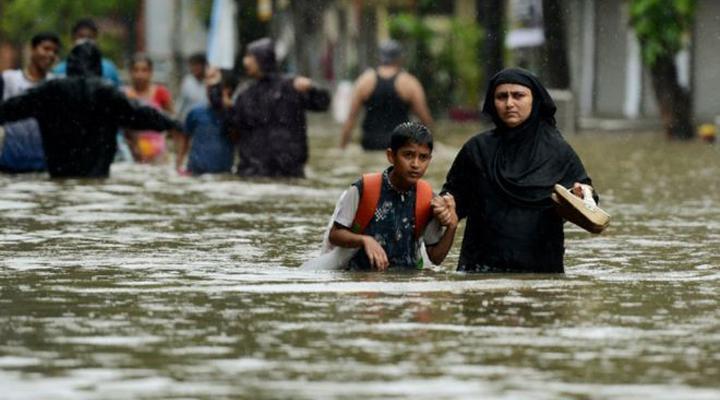 1.400 muertos deja inundaciones en Asia