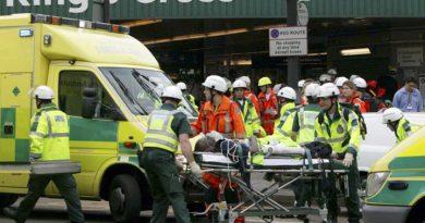 Heridas 22 personas durante ataque en el metro de Londres