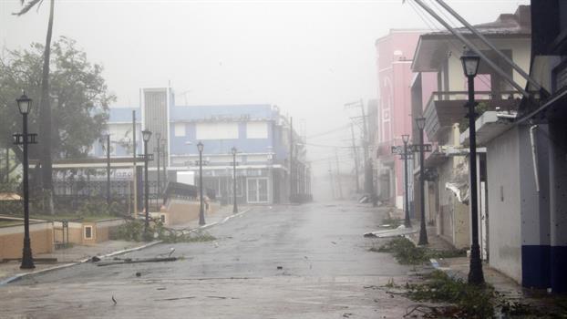 La furia de María causó destrozos en Puerto Rico