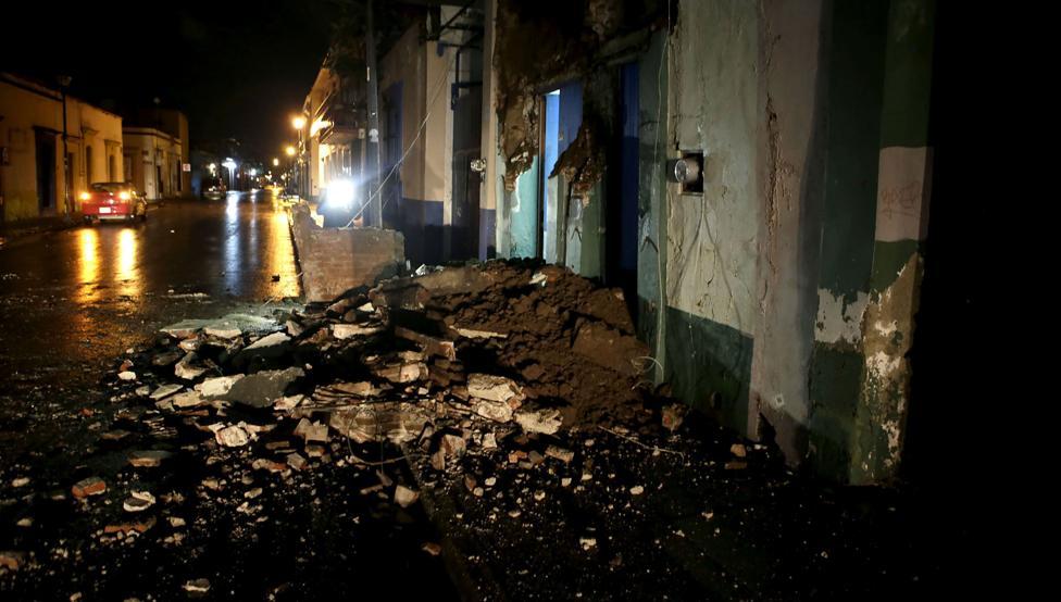 El sur de México sacudido por terremoto de magnitud 8.4 grados