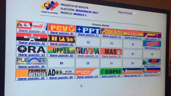 Francisco Castro aclaró que están a la espera de los resultados electorales de los estados Bolívar, Amazonas, Barinas, Yaracuy, Zulia y Aragua