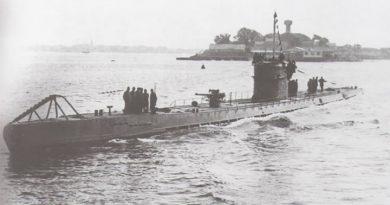 Un submarino alemán de la Primera Guerra Mundial fue descubierto en el mar del Norte