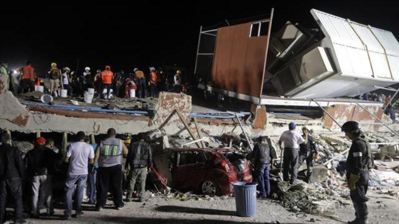 Asciende a 238 los fallecidos en México tras el terremoto