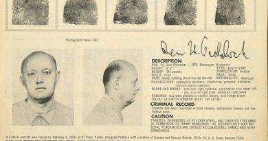 Benjamin Hoskins Paddock, padre del tirador de Las Vegas, fue un ladrón de banco.