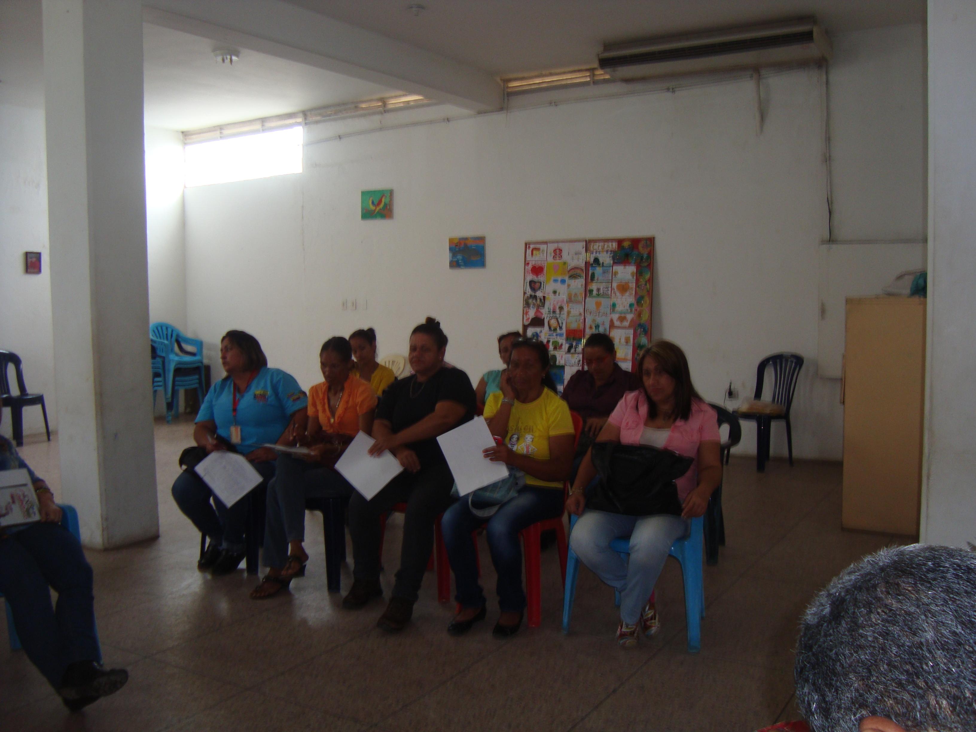 la finalidad es la organización de los gestores sociales, de crear un Frente Socialista de Gestores Sociales,
