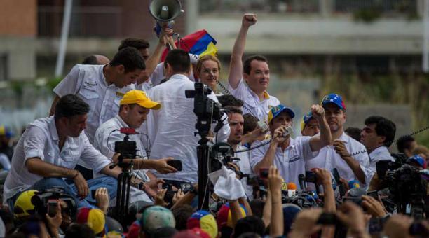 Periodistas Jesús Medina, Filippo Rossi y Roberto Di Matteo fueron liberaros tras ser detenidos por la GNB