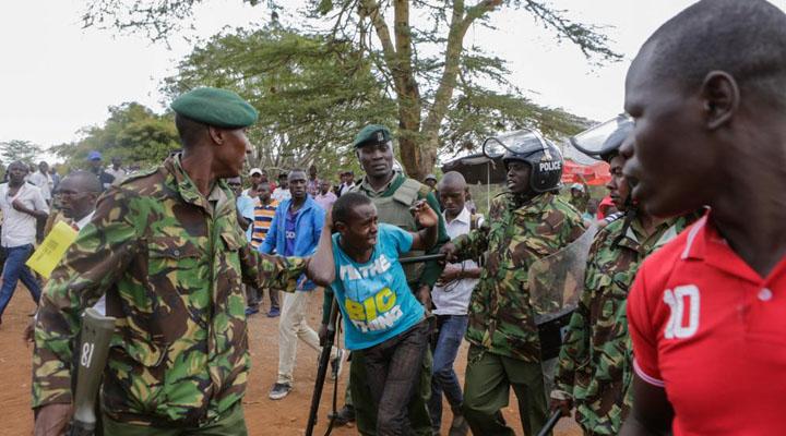 En Kenia, durante las protestas electorales, se registraron 37 fallecidos a manos de la policía