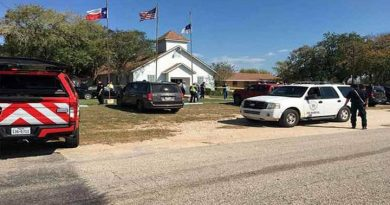 Tenía antecedentes por violencia el tirador de Texas