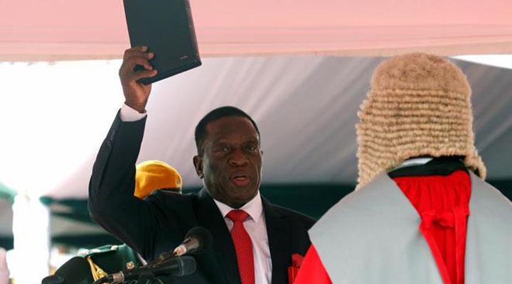 Nuevo presidente de Zimbawue, Emmerson Mnangagwa