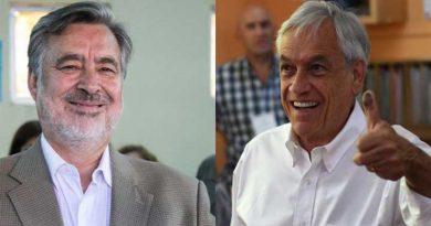 Sebastián Piñera a la segunda vuelta electoral en Chile