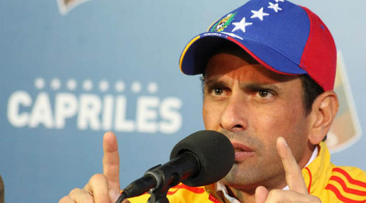 """""""En unas eventuales primarias para presidenciales, tanto Leopoldo López como yo, tenemos derecho a participar"""""""