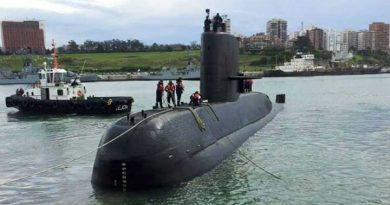Aún no se sabe nada del submarino ARA San Juan