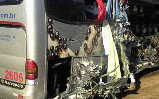 Seis personas fallecieron durante accidente en Minas Gerais