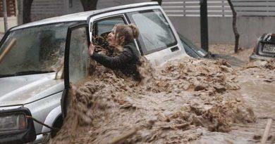 Decenas de desaparecidos y heridos tras inundaciones en Grecia