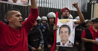Disturbios en Honduras ante conteo final de votos de las elecciones generales