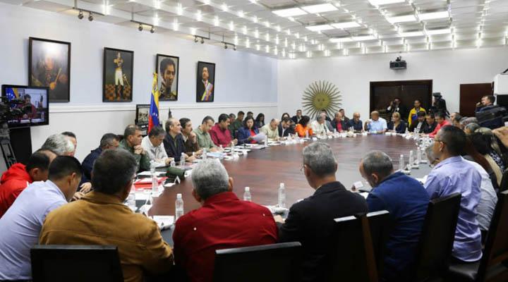 Presidente Nicolás Maduro anunció cambios en su gabinete de ministros