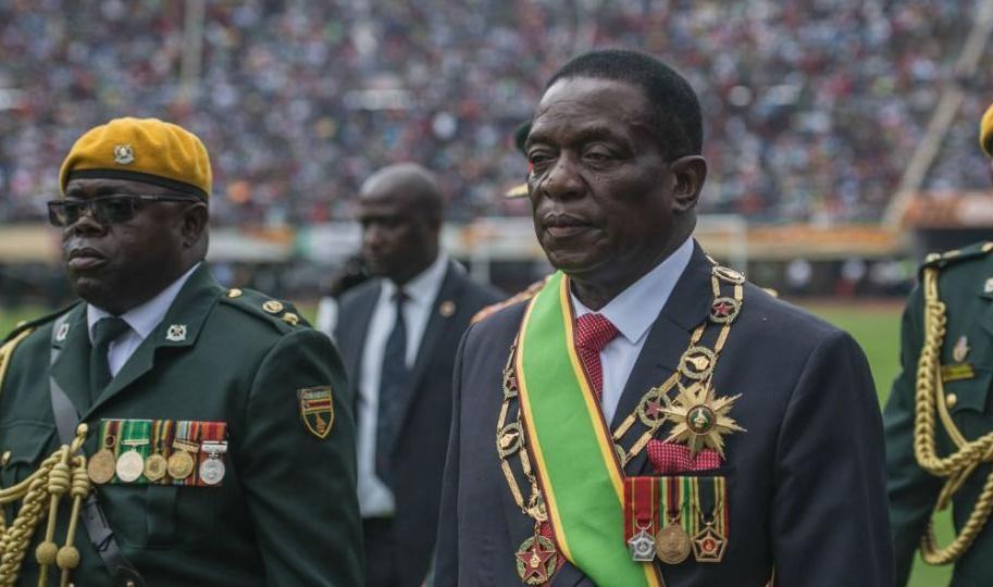 Nuevo presidente de Zimbawue; Emmerson Mnangagwa