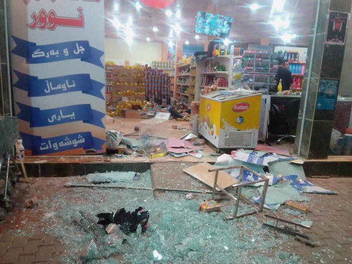 1.600 personas resultaron heridas en el temblor;cerca de la frontera con Irán, dejo al menos 328 muertos y 2500 heridos en la nación persa,