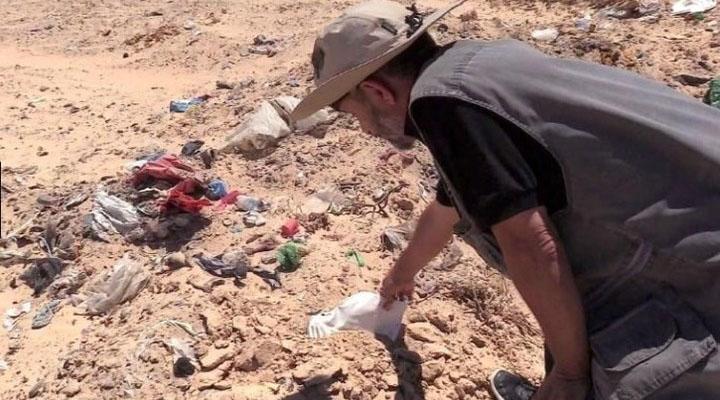 Quienes se ahogaron en el Mediterráneo, descansan en un terreno en Túnez