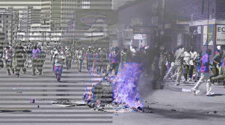 Existe un aparente golpe de estado en Zimbabwe