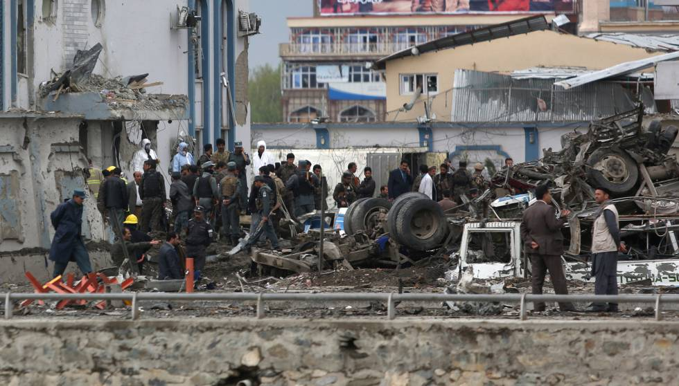 En Kabul murieron 41 personas tras atentado suicida