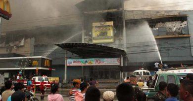 Incendio en centro comercial de Filipinas deja 37 fallecidos