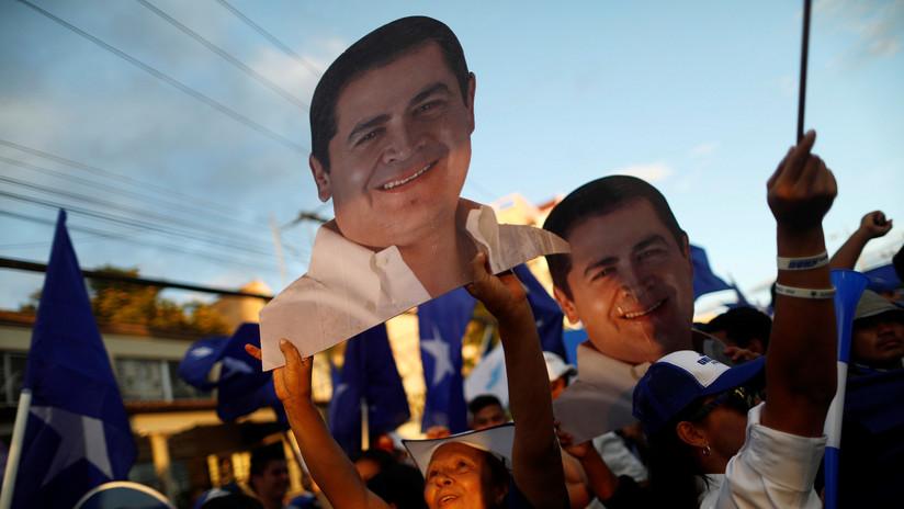 Con más del 98% de las actas procesadas, Juan Orlando Hernández lidera las elecciones