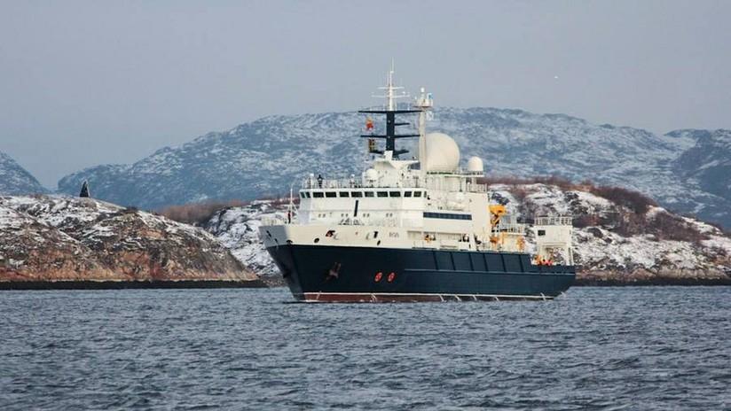 el barco ruso, el Yantar, hizo su propio barrido durante un día y el jueves se dedicó al contacto de 940 metros, por el momento sin dar reporte