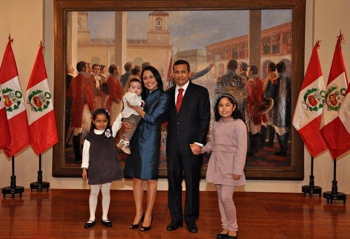 Ex pareja presidencial Humala-Heredia, pasaran navidad con sus menores hijos