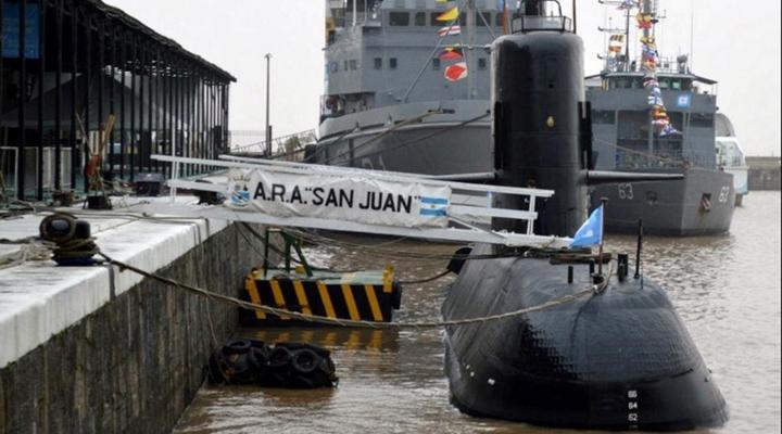 Un mes se cumplió de la desaparición del submarino ARA San Juan