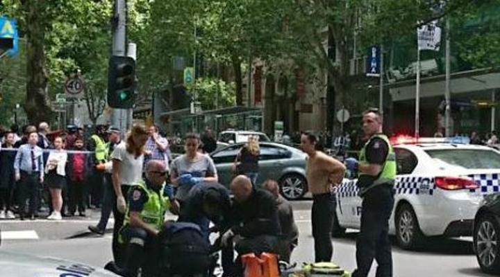 Catorce heridos dejó una embestida de un carro en Australia
