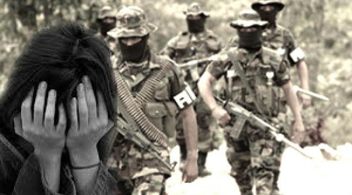 Miembros de la guerrilla cometían agresiones sexuales en Colombia