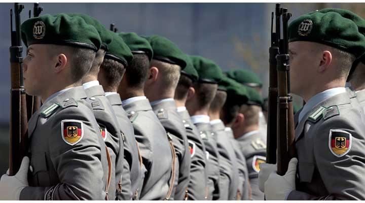 Ejército alemán recluta cada vez más a menores de edad