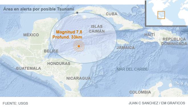 Por sugerencia del Servicio Geológico de Estados Unidos (USGS), las autoridades locales activaron durante un lapso de doce horas la alerta de tsunami