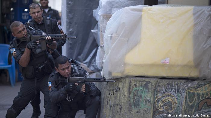 Brasil tiene un amplio historial de enfrentamientos con las favelas