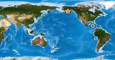 Terremoto de 8.2 en la Escala de Ritcher se produjo en Alaska