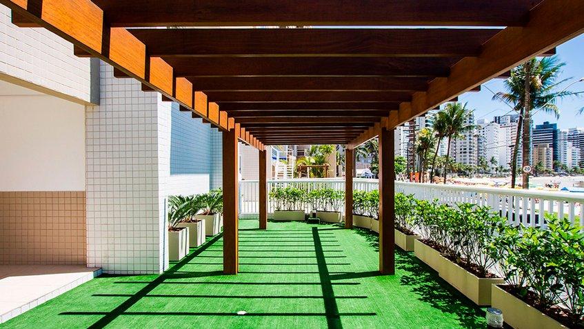 el apartamento en cuestión esta ubicado en edificio Solaris, en Guarujá, se trata de un tríplex de 215 metros cuadrados.
