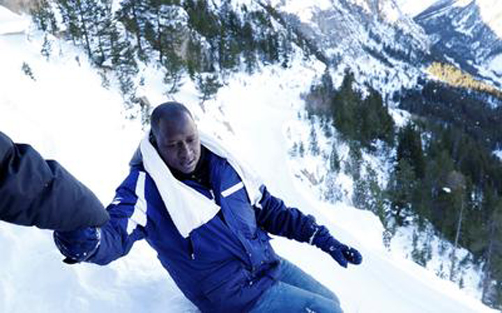 La montaña es peligrosa en invierno. Hay riesgo de congelación a causa del frío extremo, riesgo de perderse o de morir por agotamiento.