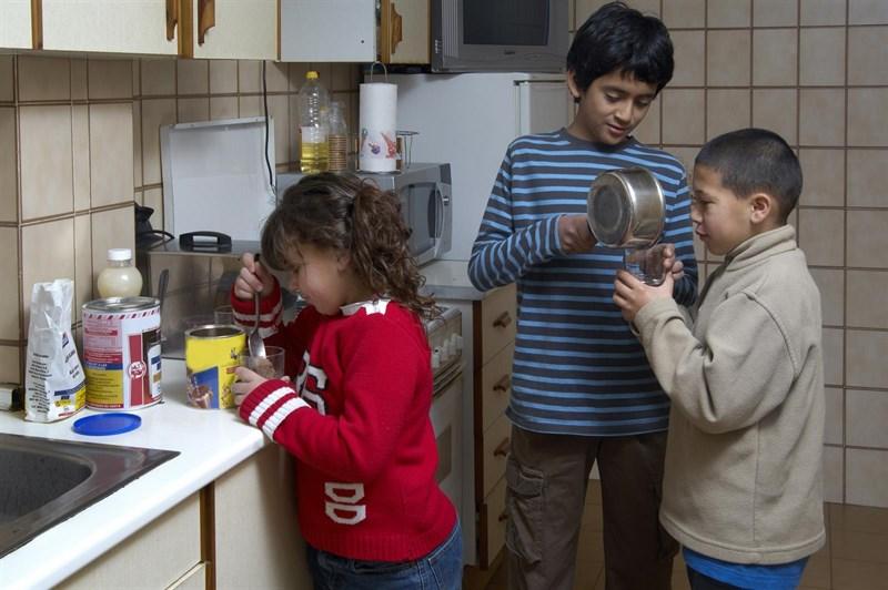 más de uno de cada cinco niños viven en condiciones de pobreza.
