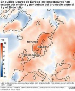 ola de calor Europa